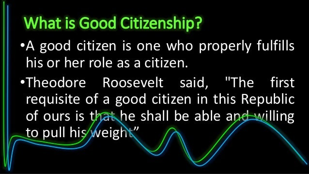 Human Right Education And Good Citizenship