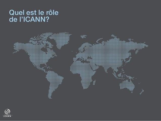 Quel est le rôle de l'ICANN?!