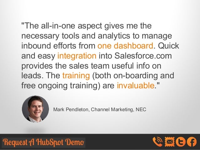 """The all-in-one aspect gives me the necessary tools and analytics to manage inbound efforts from one dashboard. Quick and ..."