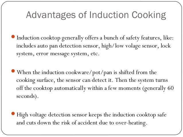 Benefits Of Induction Cooker ~ What is induction cooking
