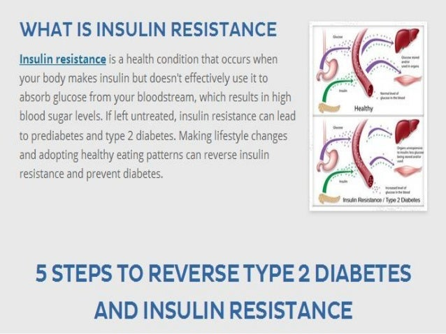 WHAT IS INSULIN RESISTANCE  Insulin resistance is a health condition that occurs when your body makes insulin but doesn't ...
