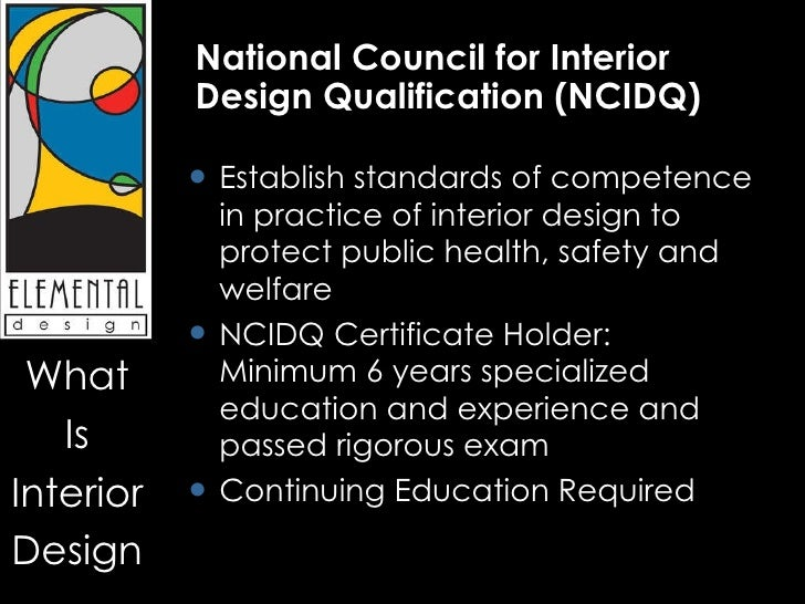 2 National Council For Interior Design