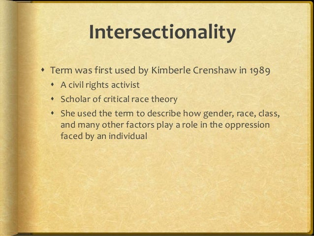 What Is Intersectionality Powerpoint