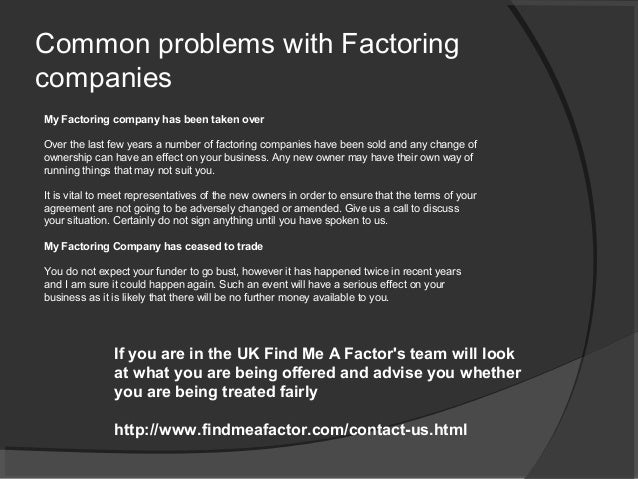 What is invoice discounting factoring findmeafactorcom for Confidential invoice factoring