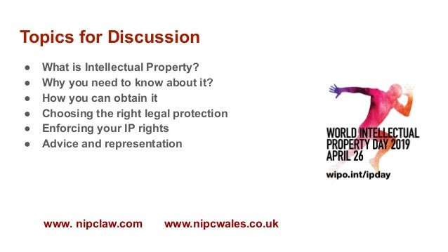"""World IP Day at M-SParc: """"What is IP?""""  Slide 2"""