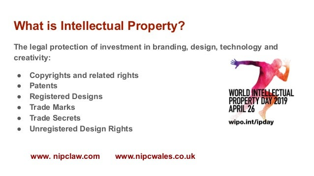 """World IP Day at M-SParc: """"What is IP?""""  Slide 3"""