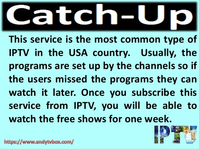 What is IPTV and Working of IPTV on Andy TV Box