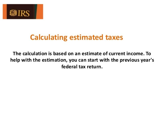 What is IRS Form 1040-ES: Estimated Tax for Individuals?