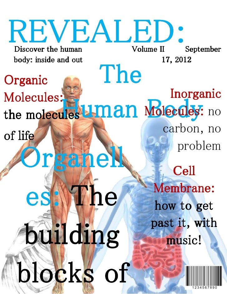 REVEALED:  Discover the human     Volume II      September  body: inside and out           17, 2012Organic          TheMol...