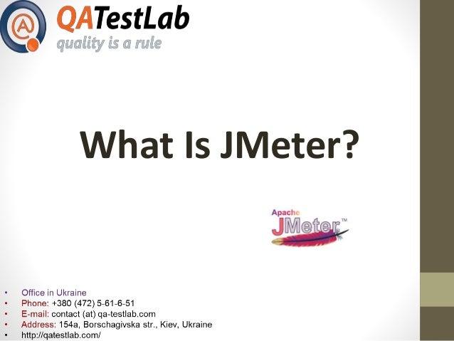 What Is JMeter?