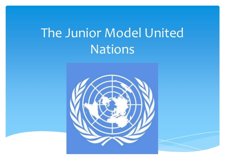 The Junior Model United        Nations