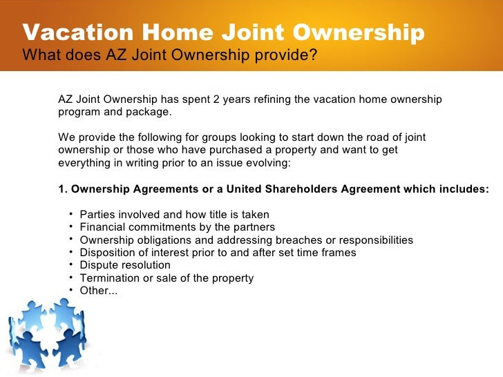 What Is Vacation Home Joint Ownership