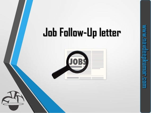 what is a follow up letter