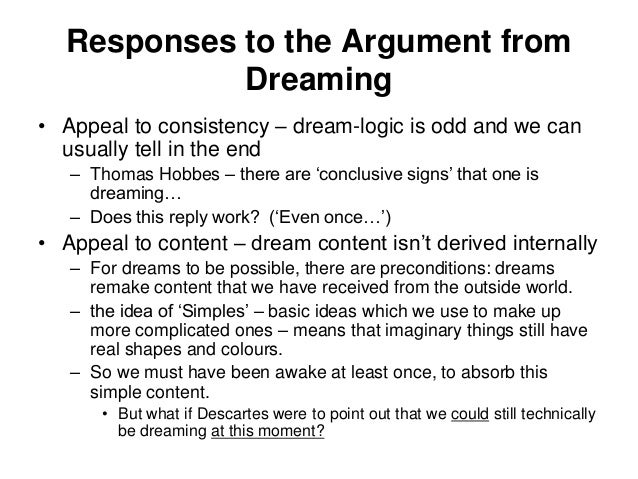 dream argument
