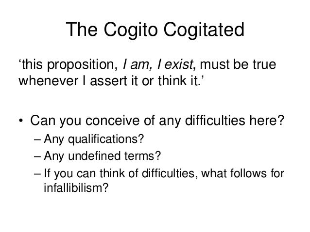 What is knowledge 2016 revision   the cogito, the trademark argument Slide 3