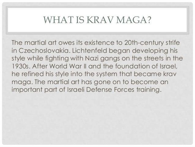 What is krav maga