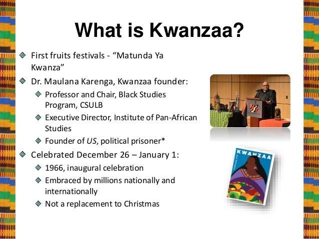 Kwanzaa A Celebration Of Principles