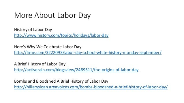 What Is Labor Day Any Way