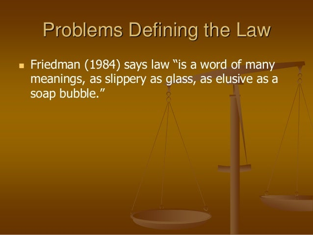 relationship between norms and laws