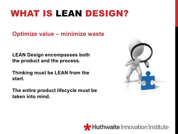 What is LEAN design?
