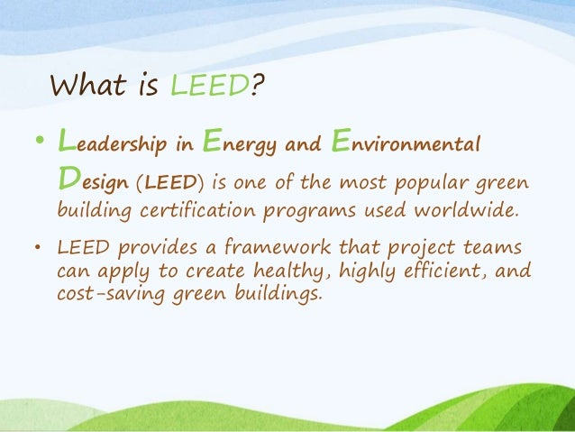 Leed Certification In Bangladesh