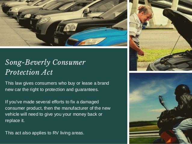 Consumer Protection Act Car Repairs