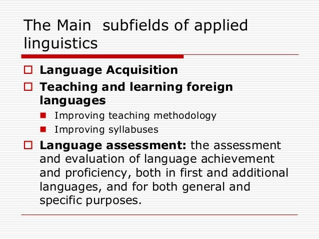what is the difference between linguistics and applied linguistics pdf