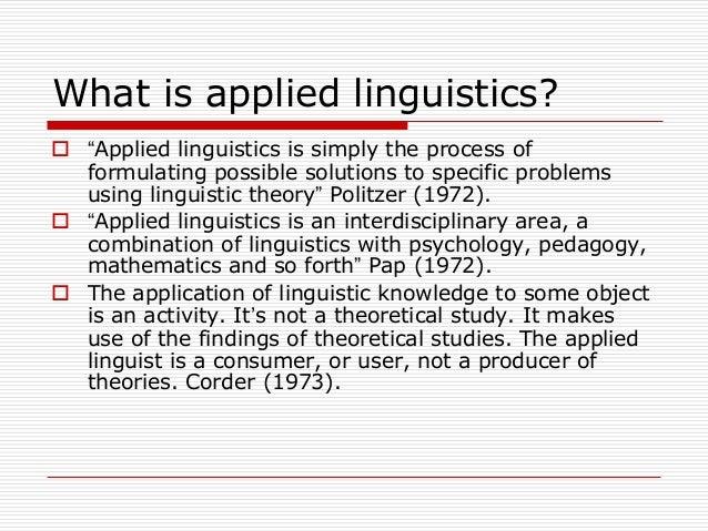 history of applied linguistics pdf