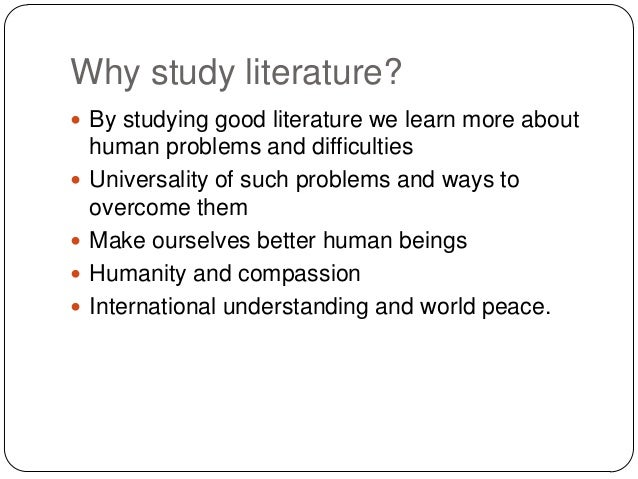 difficulties in studying literature The moment that question is raised our difficulties  we have laid down the principle that in studying literature  some ways of studying literature.