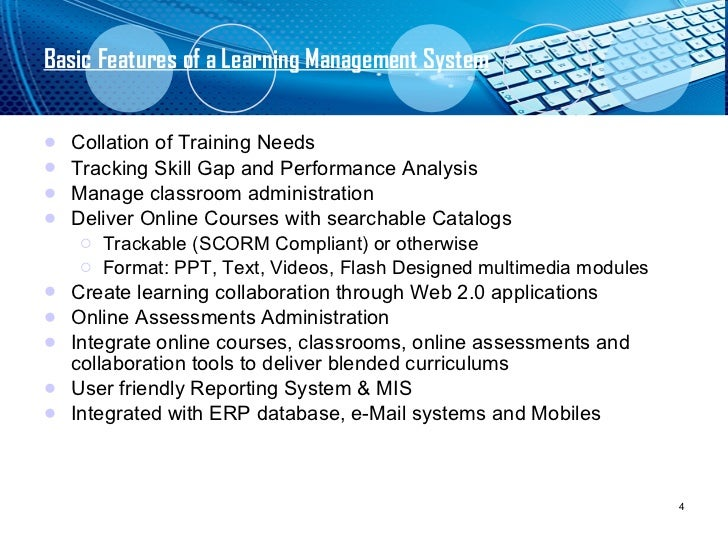 Learning Management System An Introduction