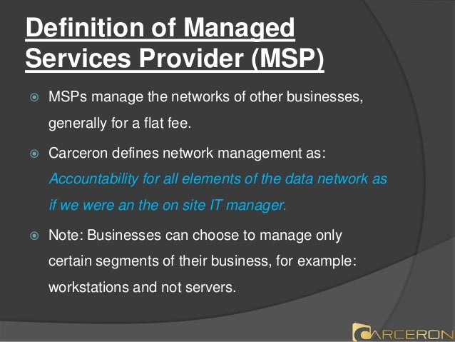 What Is Managed It Services Provider