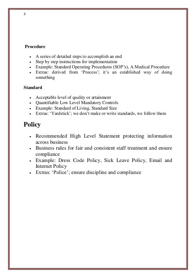 What Is Manual Sop Guideline Programme Policy Procedure And Plan