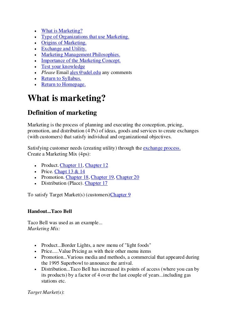 What is Marketing?      Type of Organizations that use Marketing.      Origins of Marketing.      Exchange and Utility.   ...