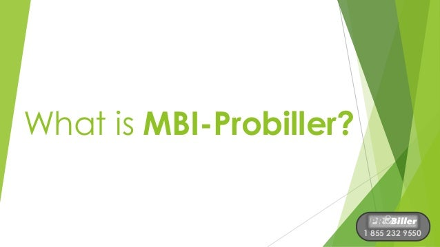 Mbi Probiller What Is It