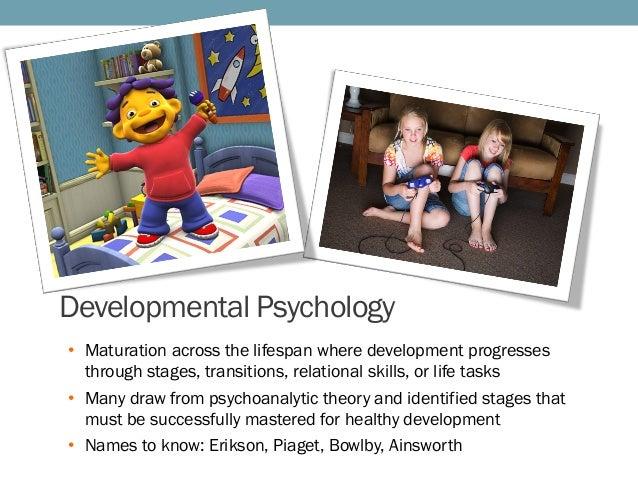 Define maturation in psychology