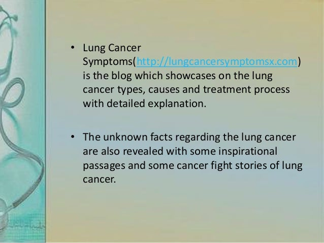 What is metastatic lung cancer?