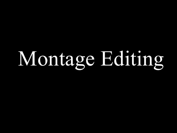 Soviet Montage Research (Editing) | Mazina Zola