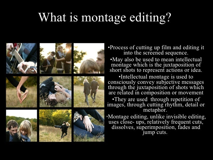eisensteins use of montage and shot Eisensteins methods of montage posted by:  a metric montage uses the length of a shot to create meaning or understanding in the audience whilst the .