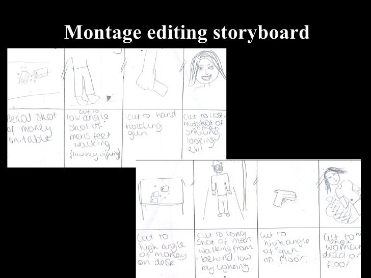 Lab 7 – Montage Editing – Welcome