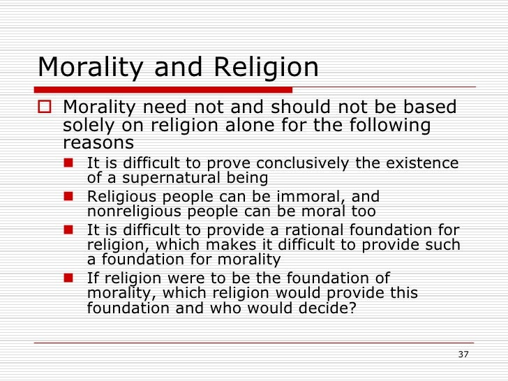 the relationship between morality and religiosity essay Of the historical relationship between morality and religion murdoch wrote: morality to murdoch, the most evident bridge between morality and religion is virtue in the murdoch's 'religion' may bear comparison also with rb braithwaite's, treated in his 1955 essay an empiricist's view of the nature of religious belief.