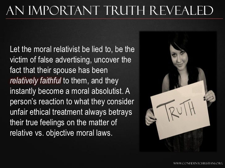 Moral Truth
