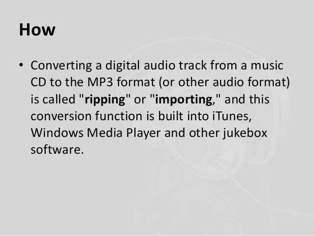 What is mp3