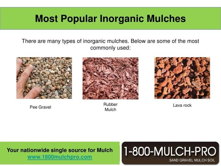 Mulch ...