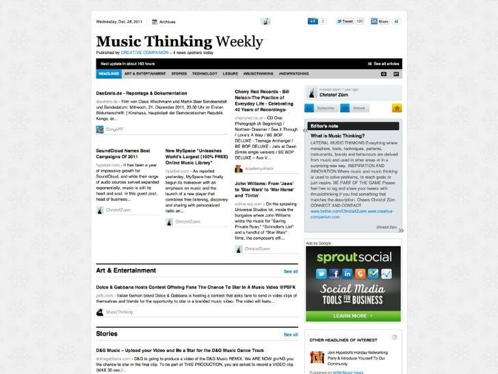 (c) CREATIVE COMPANION   MusicThinking   28 december 2011   15
