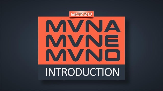 MVNA MVNE MVNO INTRODUCTION