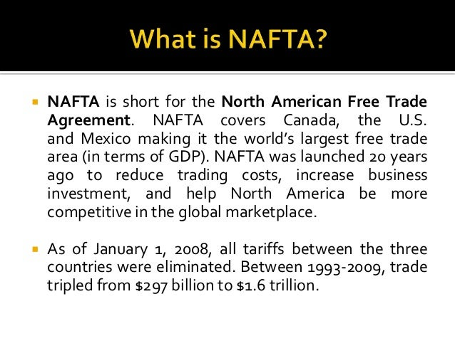 NAFTA Renegotiating Objectives