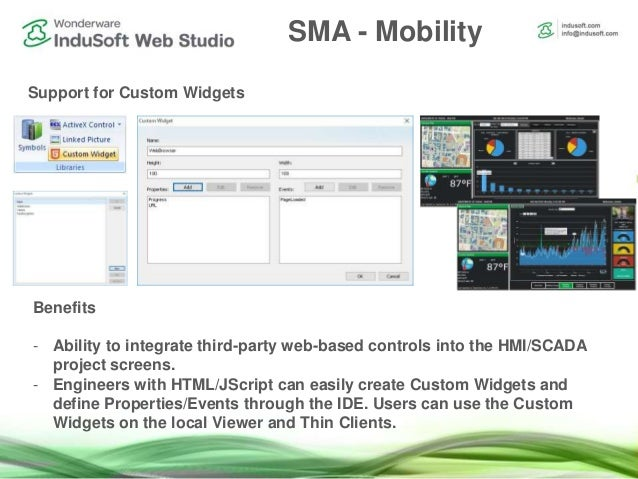 What's New In InduSoft Web Studio 8.0 +SP1