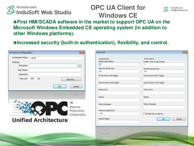 What is New in Wonderware InduSoft Web Studio 8 0+SP1+Patch 1