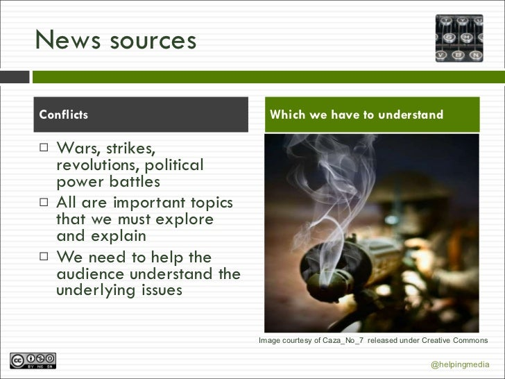 what makes a news story