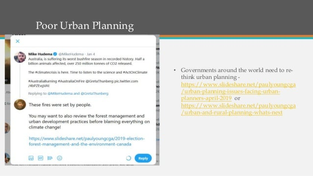 Poor Urban Planning • Governments around the world need to re- think urban planning - https://www.slideshare.net/paulyoung...